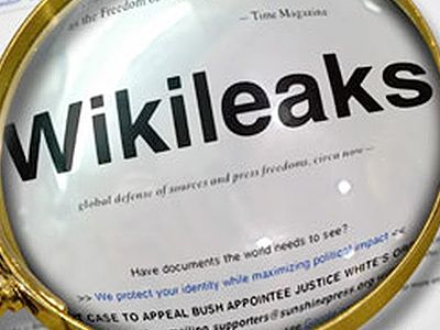 WikiLeaks. Фото: gazettereview.com