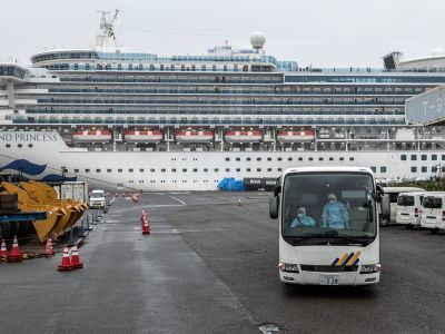 Diamond Princess. Фото: Carl Court/Getty Images